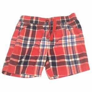 First Impressions Plaid Shorts 24 Months